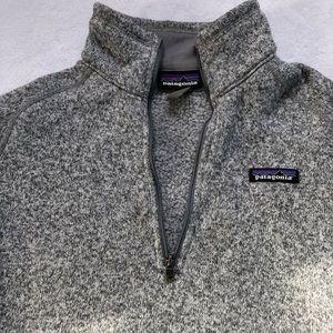 Grey Patagonia Women's quarter zip